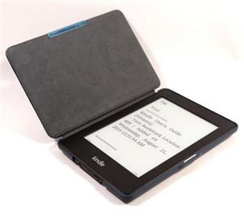 C-TECH PROTECT pouzdro pro Amazon Kindle PAPERWHITE/PAPERWHITE 2, hardcover, WAKE/SLEEP funkce, AKC-05, modré; AKC-05BL