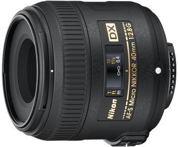 Nikon NIKKOR 40MM F2.8G ED AF-S DX MICRO (JAA638DA)