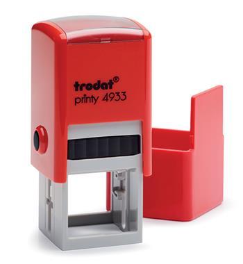 Razítko Trodat 4933, červená