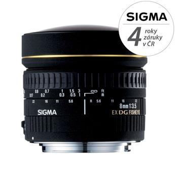 Sigma 8/3,5 EX DG FISHEYE CIRCULAR Nikon; 12092300
