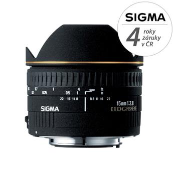 Sigma 15/2.8 EX DG FISHEYE Nikon; 12023300