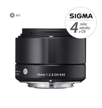 Sigma 19/2.8 DN (black) Sony