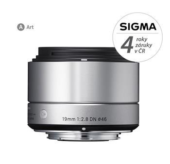 Sigma 19/2.8 DN (silver) Sony