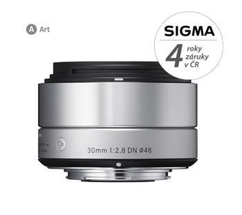Sigma 30/2.8 DN (silver) Sony