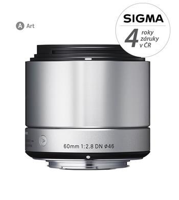 Sigma 60/2.8 DN (silver) Olympus; 12111200