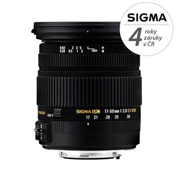 Sigma 17-50/2.8 EX DC OS HSM Sigma; 12071000