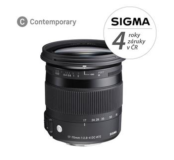 SIGMA 17-70mm F2.8-4 DC MACRO OS HSM Contemporary Canon; 14108100
