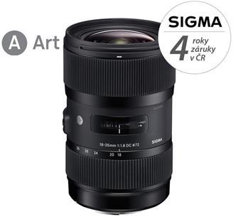 Sigma 18-35 mm f/1,8 DC HSM Art Nikon; 12113300