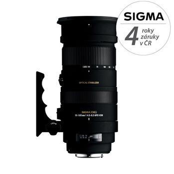 Sigma 50-500/4.5-6.3 APO DG OS HSM Pentax