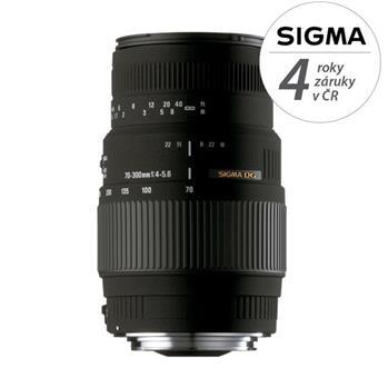 Sigma 70-300/4-5.6 DG MACRO Nikon; 12053300