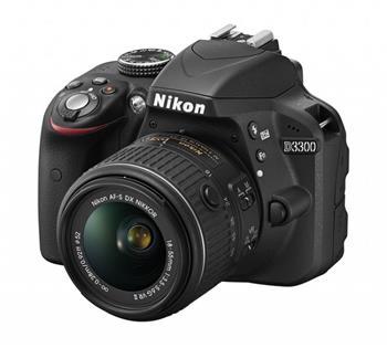 Nikon D3300 + 18-105 VR; VBA390K005