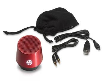 HP Mini portable speaker S4000 (flyer red); H5M97AA#ABB