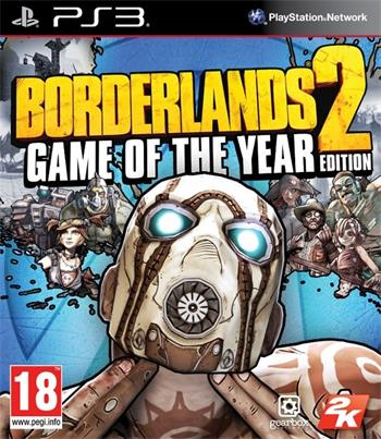 PS3 Borderlands 2 GOTY