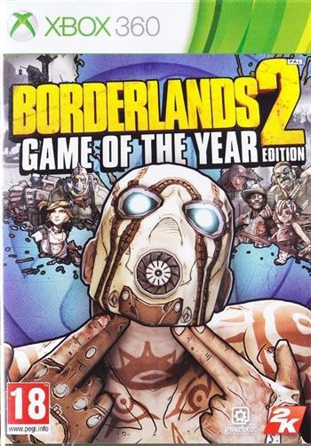 X360 Borderlands 2 GOTY