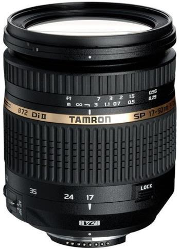 Tamron SP AF 17-50mm F/2.8 pro Nikon XR Di-II VC LD Asp. (IF); B005NII