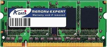ADATA 2GB 800MHz DDR2 CL5 SODIMM (pro NTB); AD2S800B2G5-R