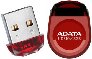 ADATA DashDrive Series UD310 8GB, červený