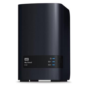 "Ext. HDD 3.5"" WD My Cloud EX2 8TB NAS LAN; WDBVKW0080JCH-EESN"