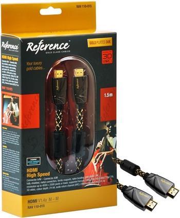 Reference RAV 110-015 HDMI 1.4 M-M 1,5m; RAV 110-015