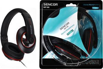 SENCOR SEP 626 sluchátka, přes hlavu