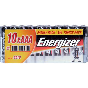 ENERGIZER Alkalické tužkové baterie FP LR03/10 10xAAA 35032934; LR03/10