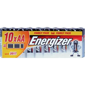 ENERGIZER LR6/10 alkalická baterie, AA (R06), 10ks; LR6/10