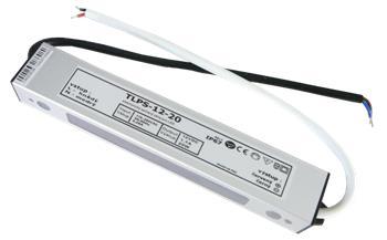 LEDme voděodolný LED napájecí zdroj 20W 12V IP67; NJ-IP-20W-12V