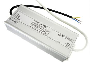 LEDme voděodolný LED napájecí zdroj 100W 12V IP67; NJ-IP-100W-12V