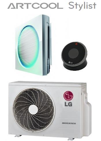 Klimatizace LG G09WL ARTCOOL STYLIST 2,5kW LED