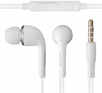 Samsung špuntová sluchátka s mikrofónem HS3303, bílé; EO-HS3303WEGWW