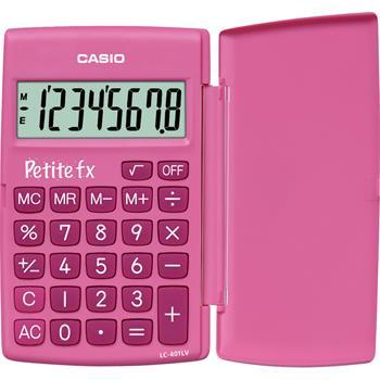 CASIO LC 401 LV PK pink kalkulačka