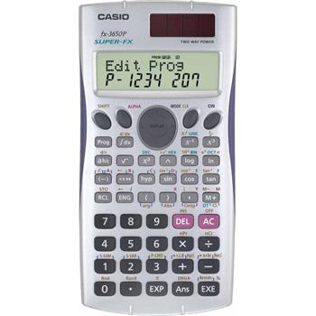 CASIO FX 3650 P kalkulačka programovatelná