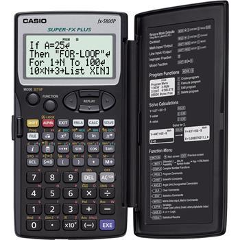 CASIO FX 5800 P kalkulačka programovatelná