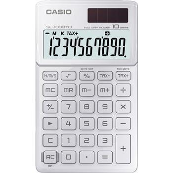 CASIO SL 1000 TW WHITE kalkulačka kapesní