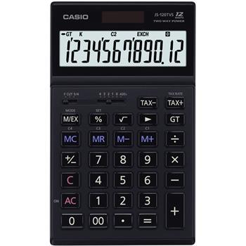 CASIO JS 120 TVS BK kalkulačka stolní