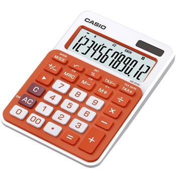 CASIO MS 20NC OR kalkulačka stolní; MS 20 NC/RG