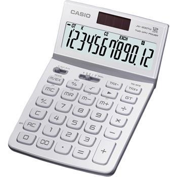 CASIO JW 200 TW WHITE kalkulačka stolní