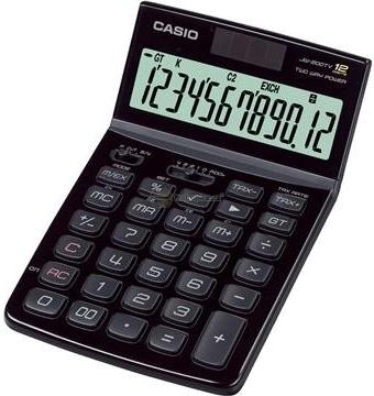 CASIO JW 200TW BK kalkulačka stolní