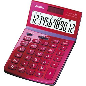 CASIO JW 200 TW RED kalkulačka stolní