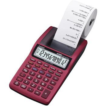 CASIO HR 8TEC RD kalkulačka tisková; HR 8TEC RD
