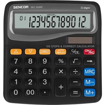 SENCOR SEC 353RP kalkulačka stolní