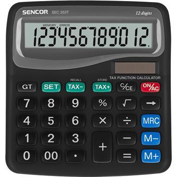 SENCOR SEC 353T kalkulačka stolní