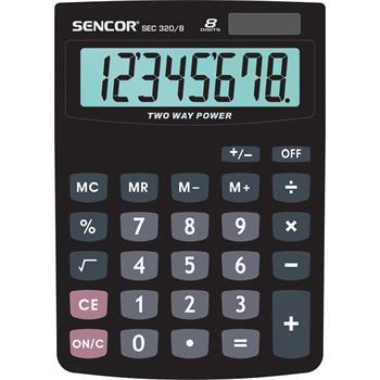 SENCOR SEC 320/ 8 kalkulačka stolní