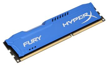 Kingston 4GB DDR3-1333MHz HyperX Fury Blue; HX313C9F/4
