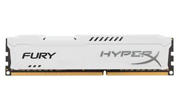 Kingston 4GB DDR3-1333MHz HyperX Fury White; HX313C9FW/4