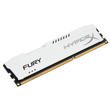 Kingston 4GB DDR3-1600MHz HyperX Fury White; HX316C10FW/4