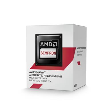 CPU AMD Sempron X2 2650 Kabini 2c B (1,45GHz,1MB); SD2650JAHMBOX