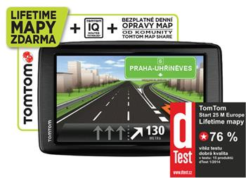 TomTom Start 25 Europe Traffic LifeTime; 1EN5.002.18