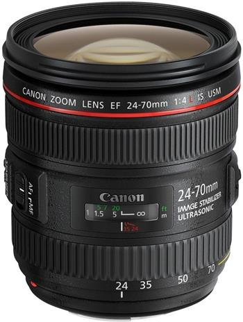 Canon EF 24-70mm f/4.0 L IS USM; 6313B005AA