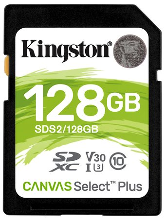 Kingston Card Canvas Select Plus SD 128 GB